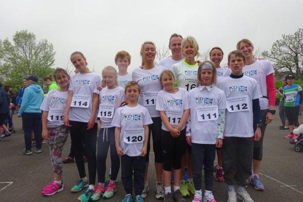 Team KD-UK running 2K and 10K distance.